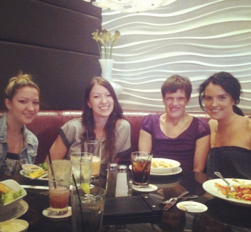 Lunch with the girls!